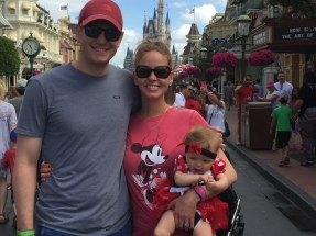 Family photo at Magic Kingdom!